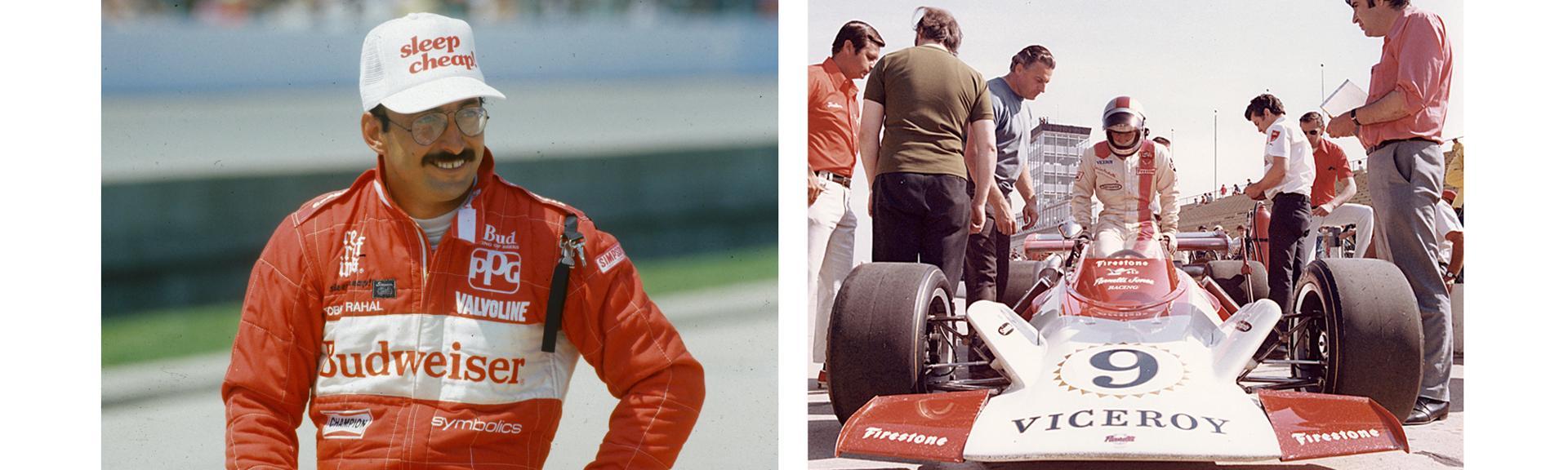 Bobby Rahal  Mario Andretti