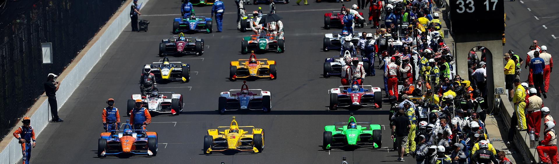 Indianapolis 500 in 2018 in Indianapolis, Indiana.