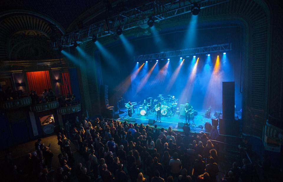 Slow Mass performs during the Face The Music Foundation benefit concert. Monday, May 20, 2019 at the Riviera Theatre in Chicago (Photo by Barry Brecheisen)