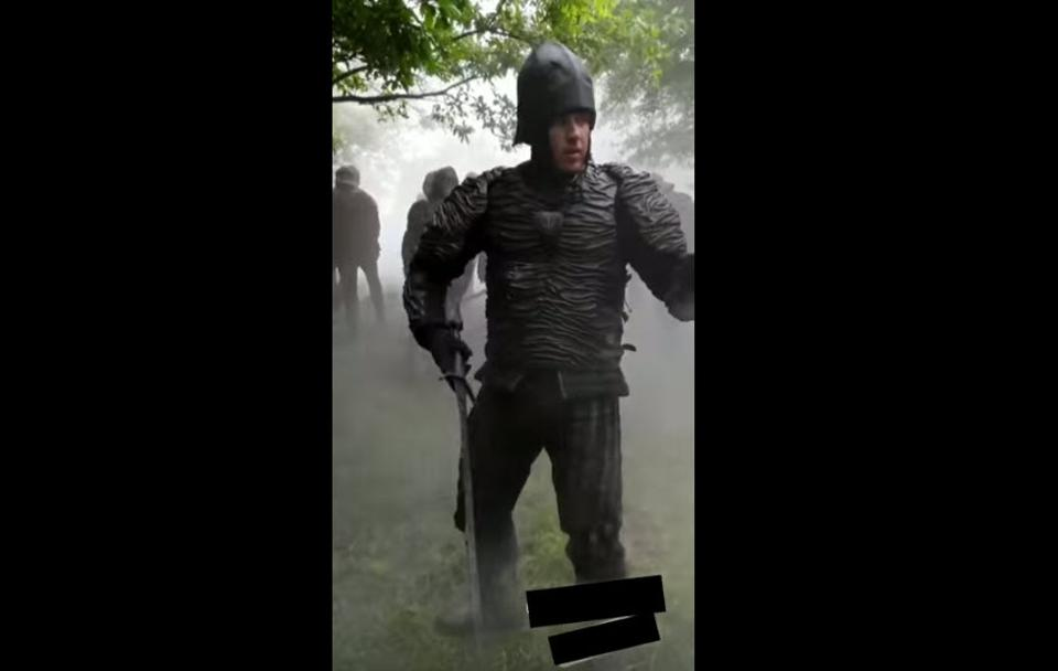 Netflix's 'The Witcher' Set Video Leak Showcases Nilfgaardian Armor