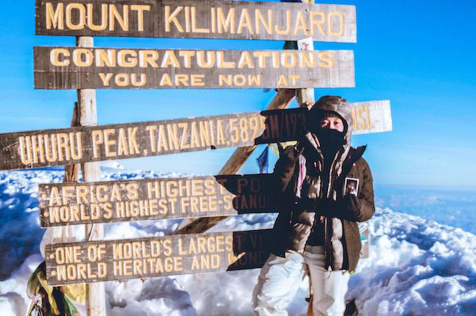 Her determination to stand up for child victims of human trafficking and exploitation gave Hawaiian college student Ashley Cobile the courage to climb Mount Kilimanjaro in 2018.
