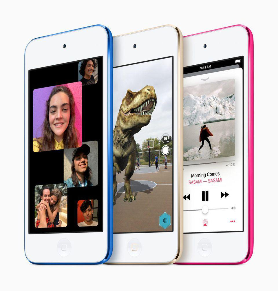 Apple's new iPod Touch