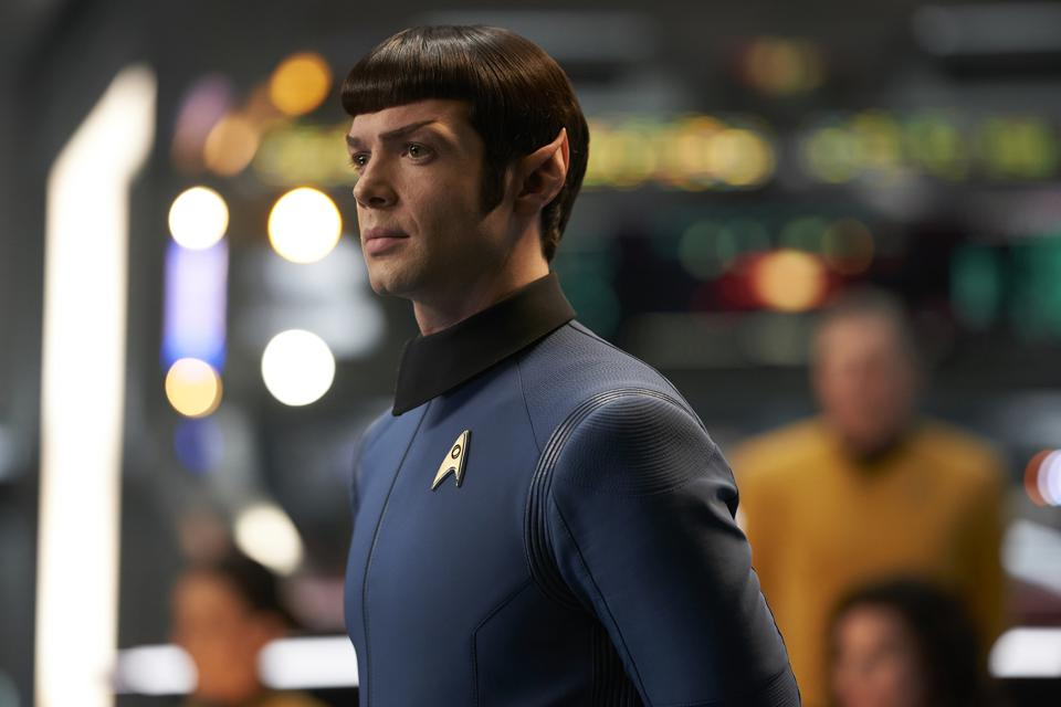 Ethan Peck as Spock in ″Star Trek: Discovery″