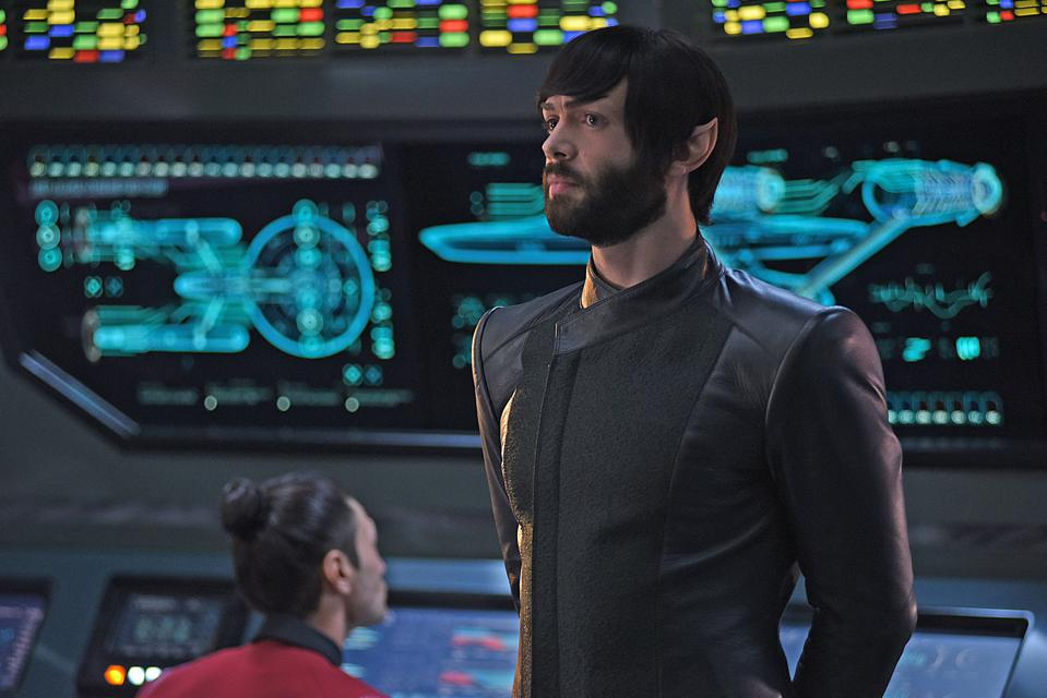 Ethan Peck as Spock on Star Trek: Discovery