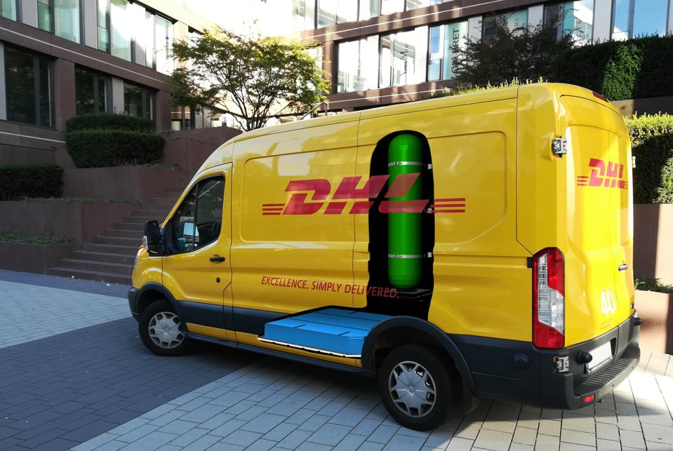 Hauling With Hydrogen: DHL Adding Fuel-Cell Vans To Its