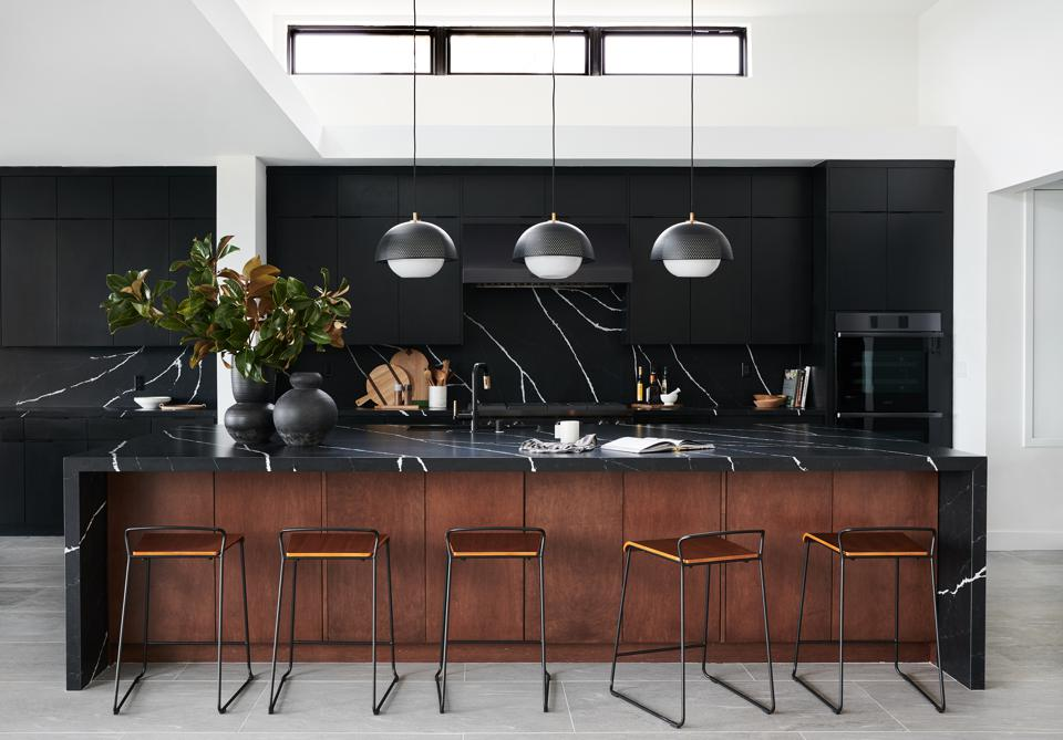 Bobby Berk All-Black Kitchen