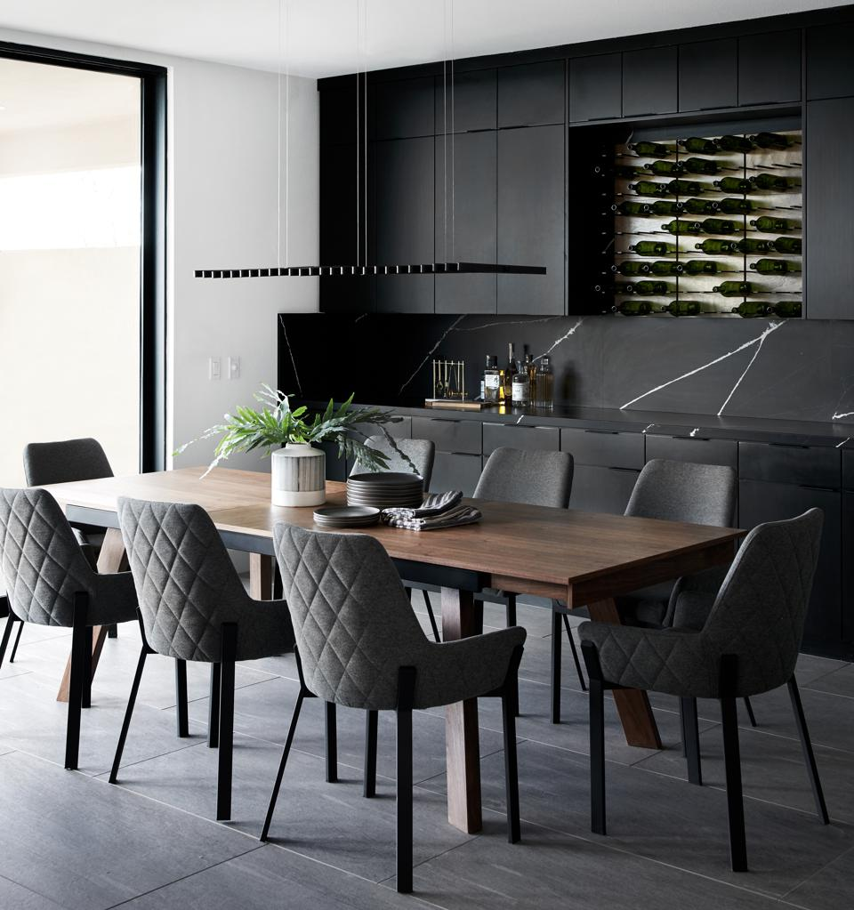 Bobby Berk Studio Dining Room Model
