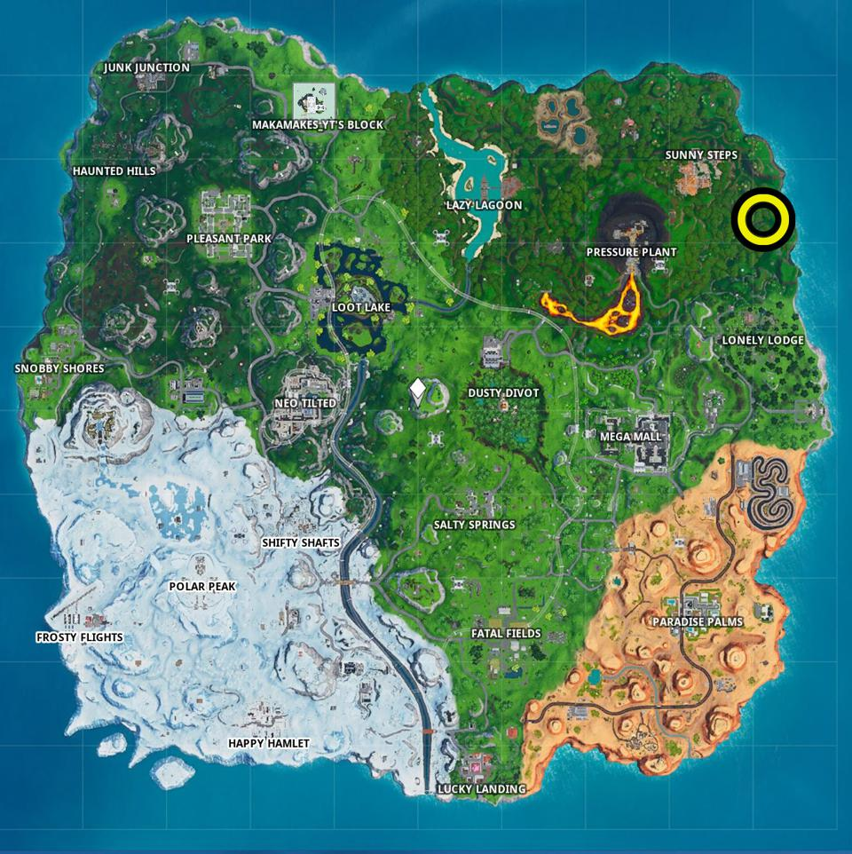 Fortnite' Fortbyte #88 Location: Found Somewhere Within Map