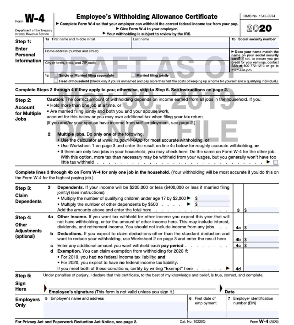 american express card balance gift  IRS Releases New Draft Form W-8 To Help Taxpayers Avoid ...