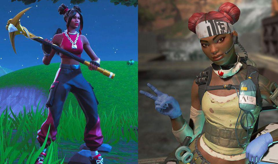 'Fortnite' Looted 'Apex Legends' For Parts, Then Plowed Right Through It