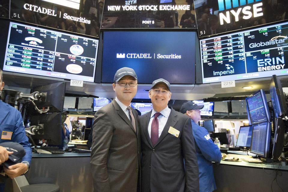 Finance Billionaire Ken Griffin's Citadel Securities Trading