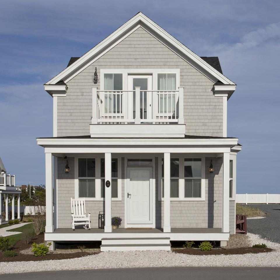 This modular house in Dennis Port MA is one of 64 cottages in this community.