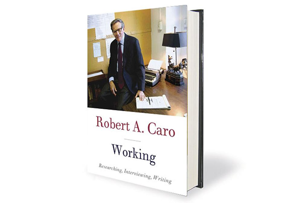 book cover for Working: Researching, Interviewing, Writing by Robert A. Caro