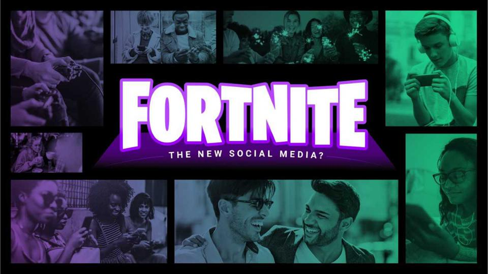 Cover of NRG study on Fortnite as a social media platform