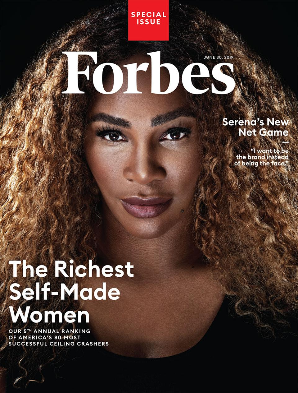 Forbes redesigned magazine - June 30, 2019