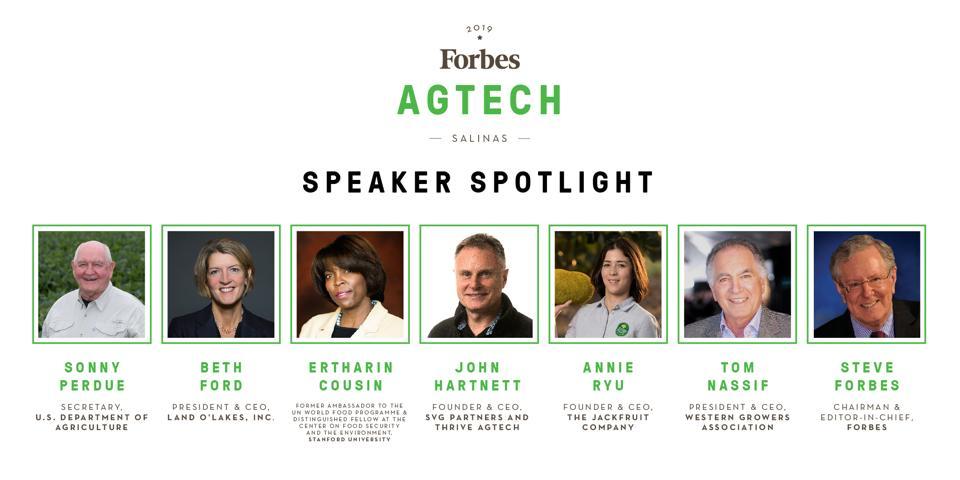 Forbes AgTech Summit 2019 Speaker Spotlight