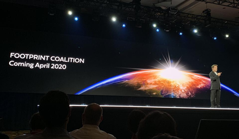 Robert Downey Jr. announced the ″Footprint Coalition″ at Amazon's re:MARS conference in Las Vegas.