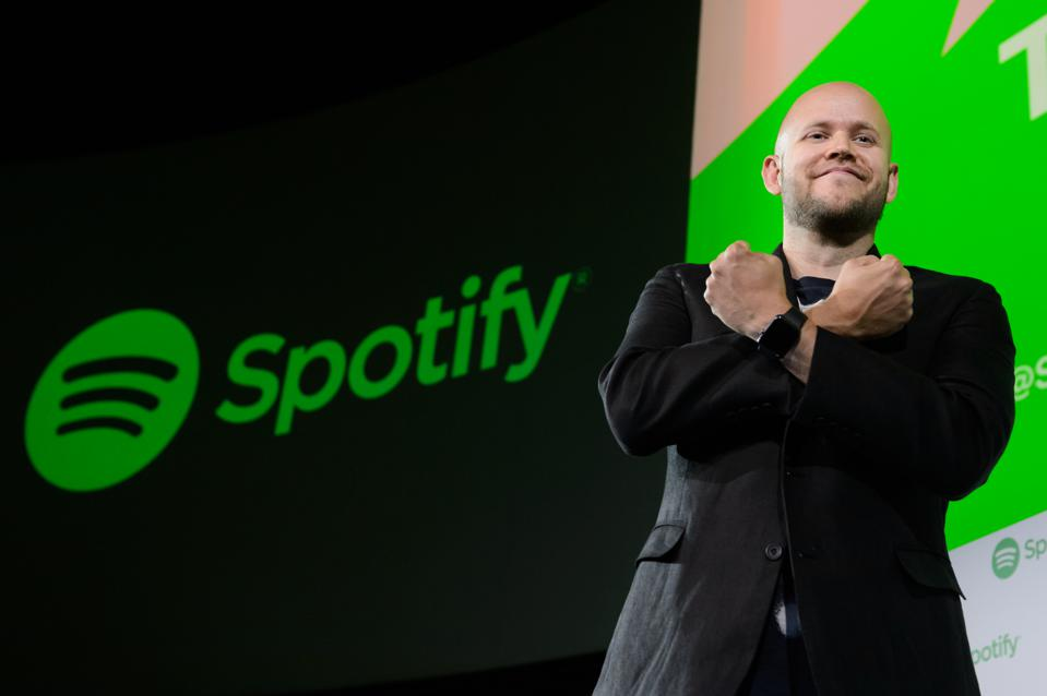 Daniel Ek, chief executive officer and cofounder of Spotify. (Photographer: Akio Kon/Bloomberg)