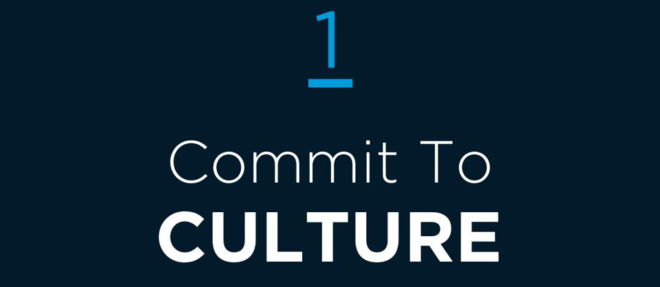 1 Commit to Culture