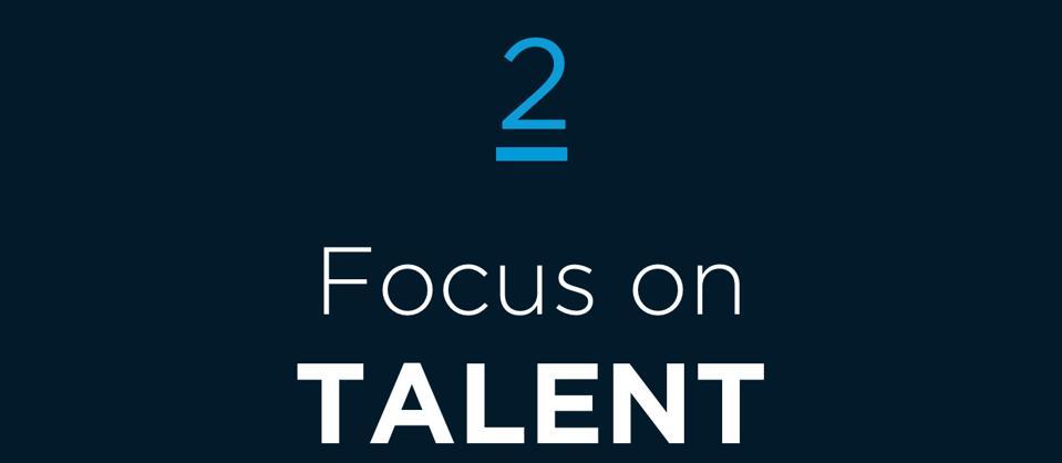 2 Focus on Talent