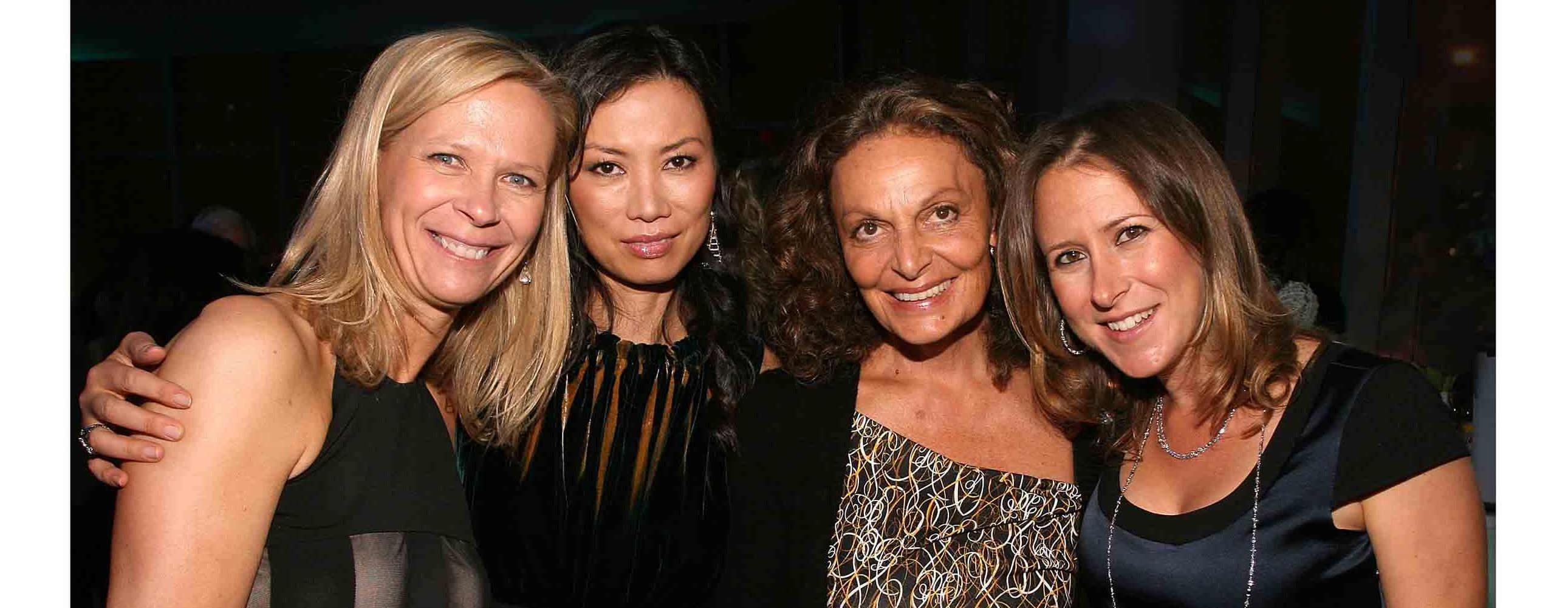 Linda-Avey-Wendi-Deng-Diane-VonFurstenberg-and-Anne-Wojcicki