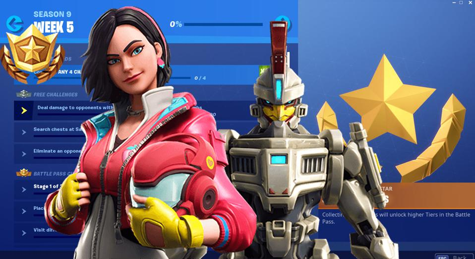 Fortnite' Season 9, Week 5 Challenges Revealed And How To Solve Them