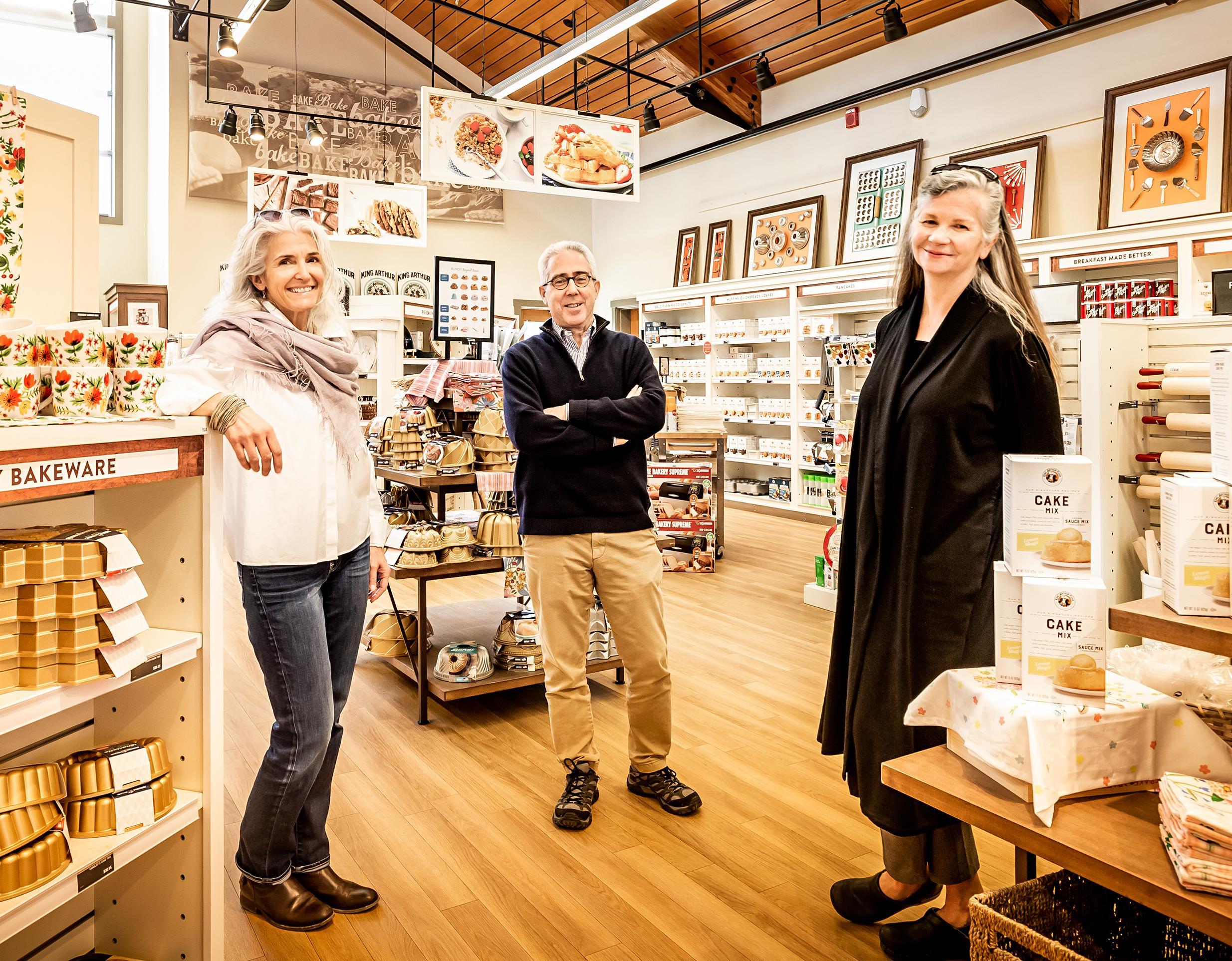 King Arthur Flour, flour, baking, small business, entrepreneurs, Vermont, Karen Colberg, Ralph Carlton, Suzanne McDowell,
