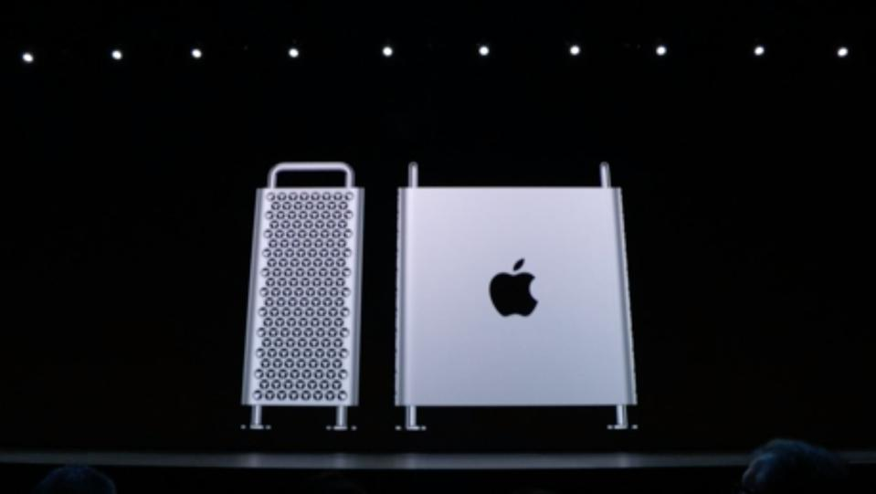 Apple Mac Pro 2019 on stage at World Wide Developers Conference