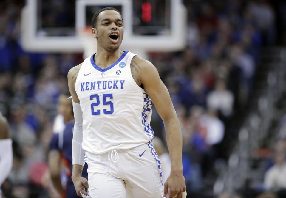 NCAA Auburn Kentucky Basketball