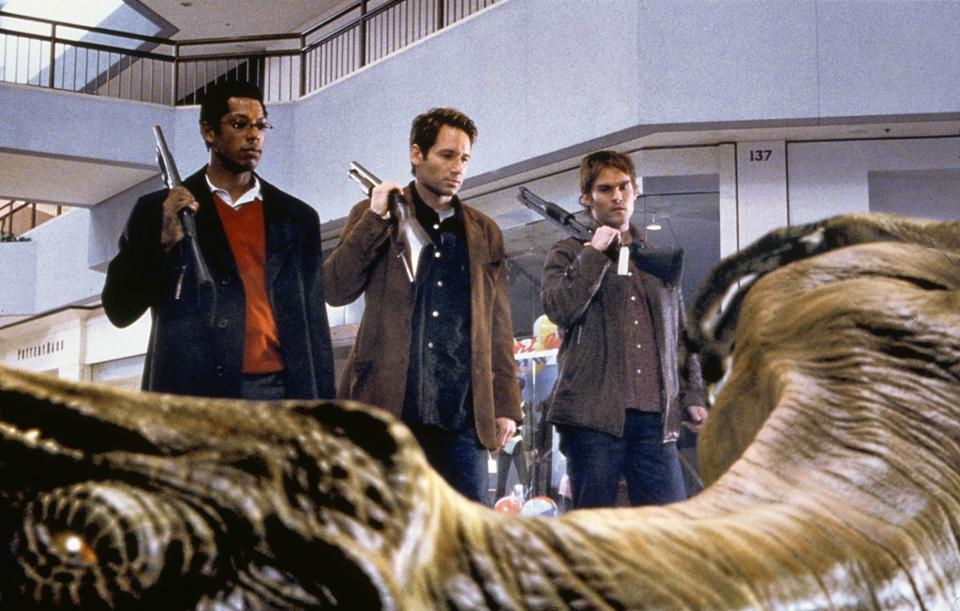 The Writers Of 'Evolution' Reflect On The Film's Adaptability 18 Years Later