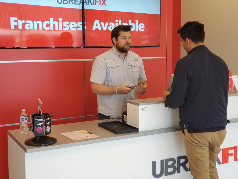 Ubreakifix, Drew Lessaris, device repair, phone repair, franchise, devices