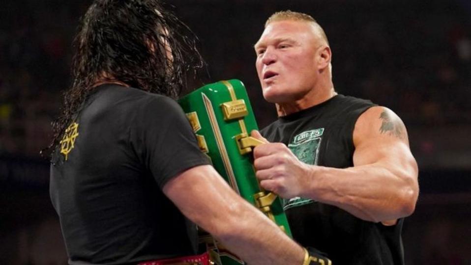 Brock Lesnar Seth Rollins Saudi Arabia