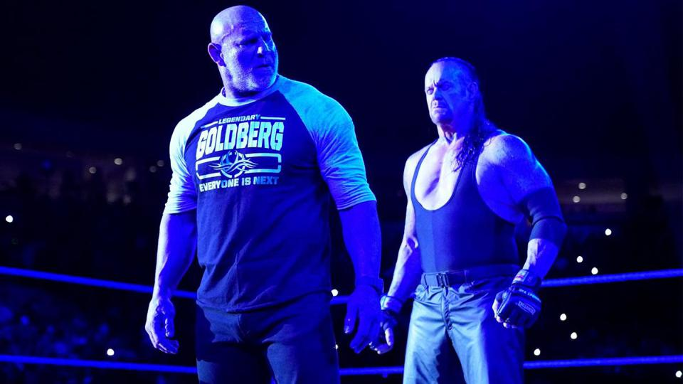 Undertaker Goldberg WWE Super ShowDown Saudi Arabia