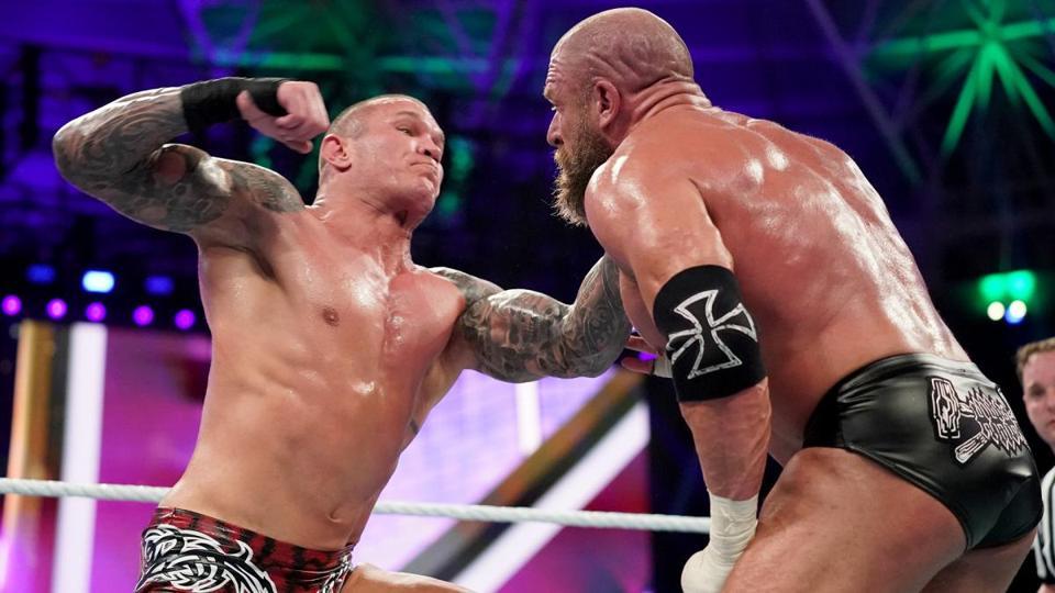 Triple H Randy Orton WWE Super ShowDown