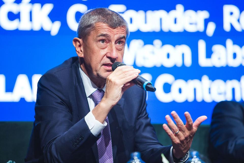 Prime Minister Andrej Babiš of the Czech Republic