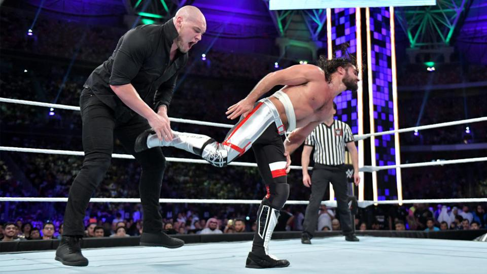 Baron Corbin vs. Seth Rollins