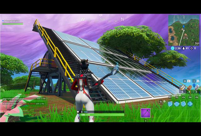 'Fortnite' Fortbyte #95 Location: Found At A Solar Panel Array In The Jungle