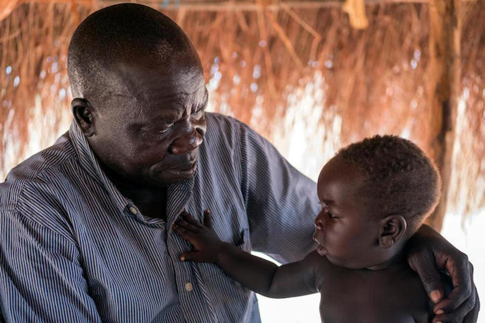 UNICEF helps South Sudanese families displaced by violence rebuild their lives at the Bidi Bidi refugee settlement in northern Uganda.