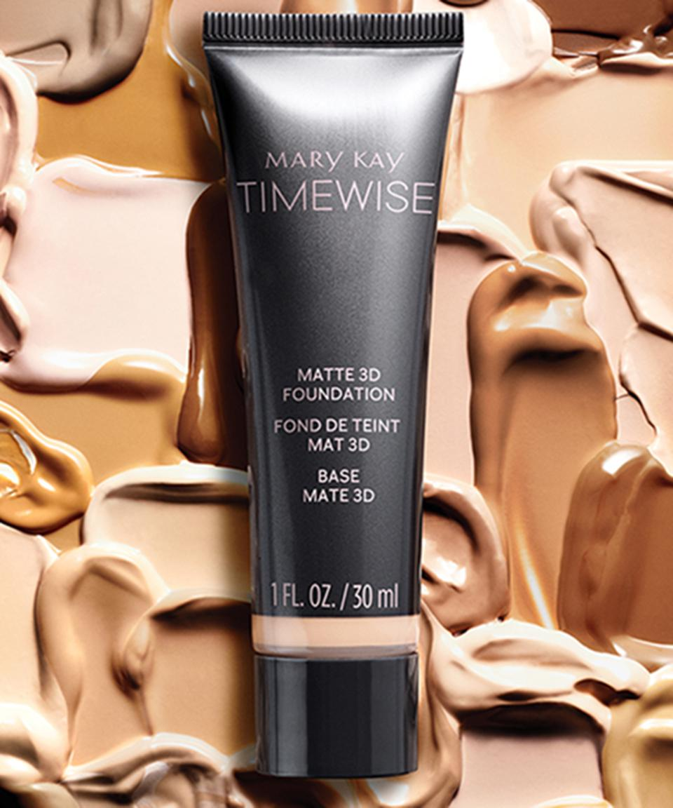 Mary Kay's new TimeWise 3D Matte Foundation.