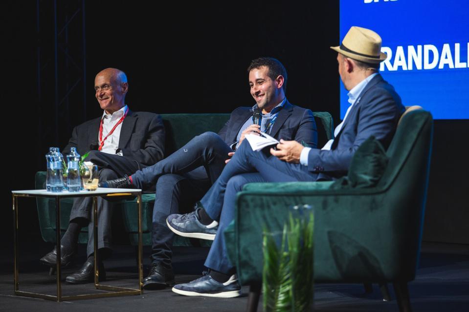 Michael Chertoff, Jason Wiseman and Randall Lane Forbes 30 Under 30