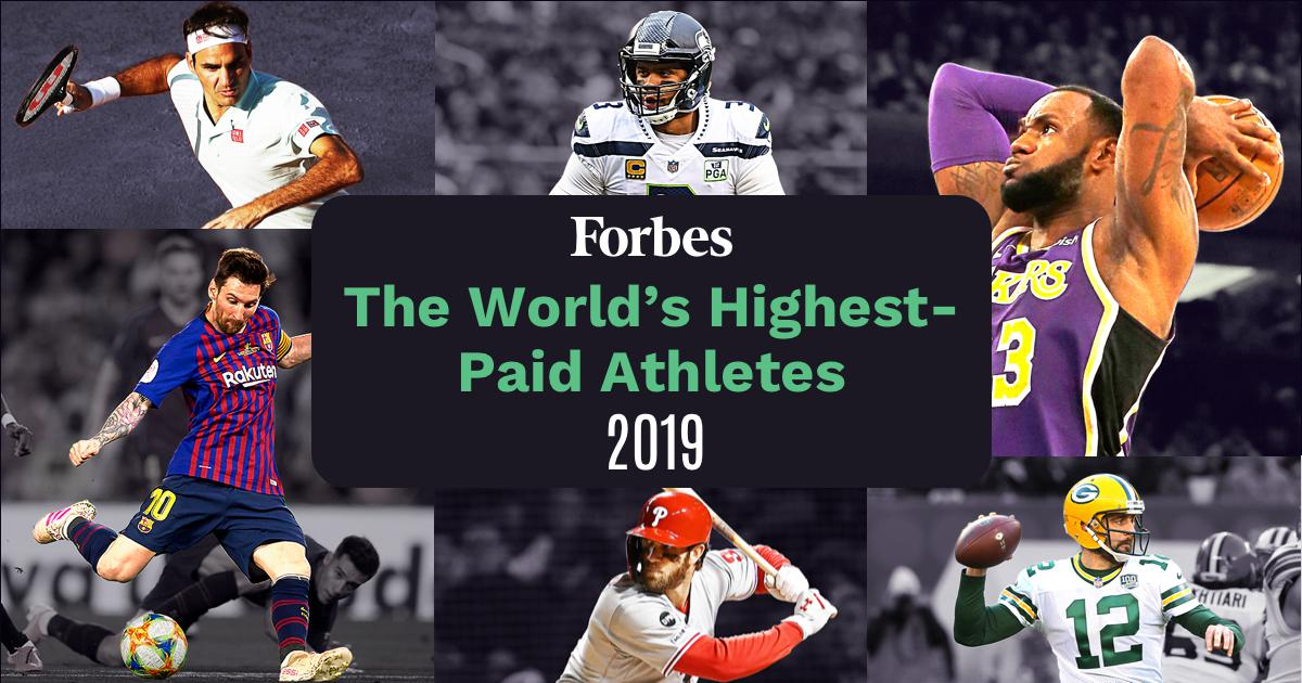 The World's Highest-Paid Athletes 2019