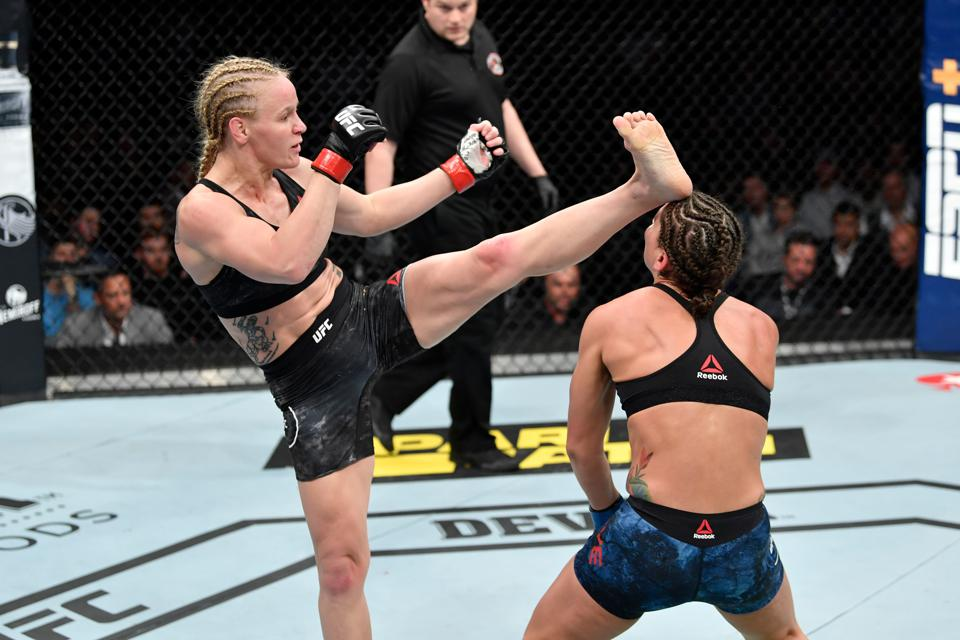 Valentina Shevchenko faces Katlyn Chookagian in the main event of tonight's UFC 247 pay-per-view.