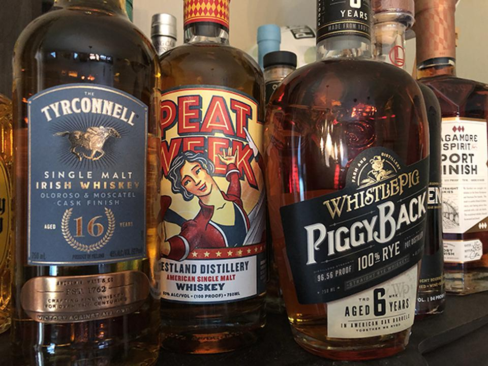 A few new whiskeys to explore