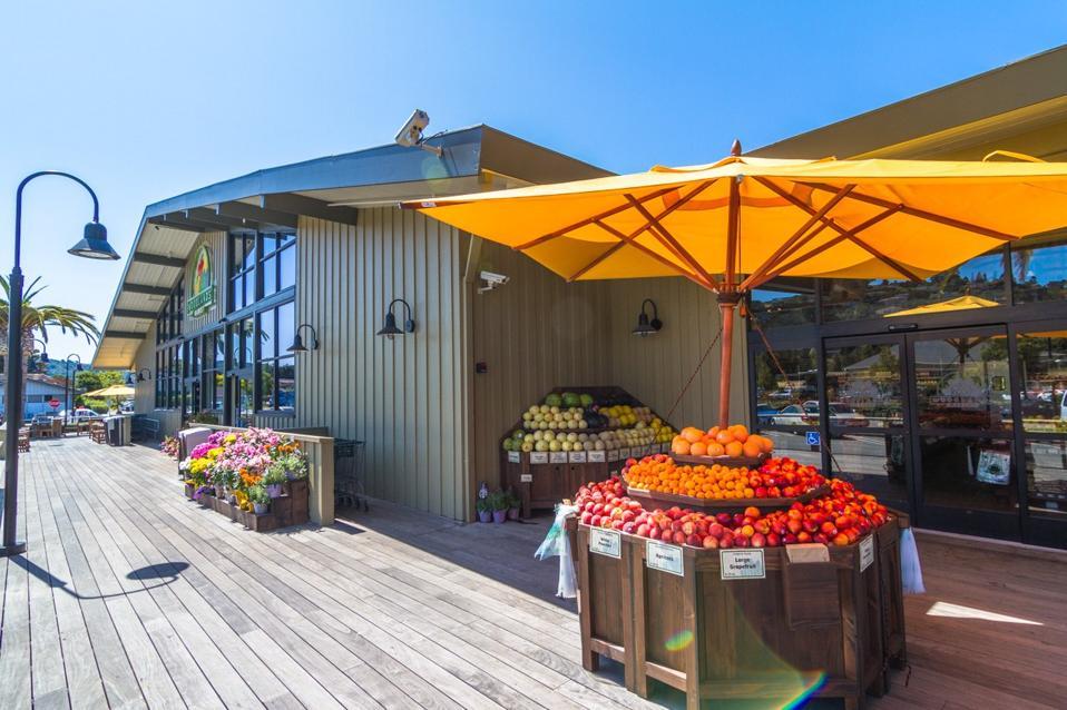 Woodlands Market in Tiburon, CA.