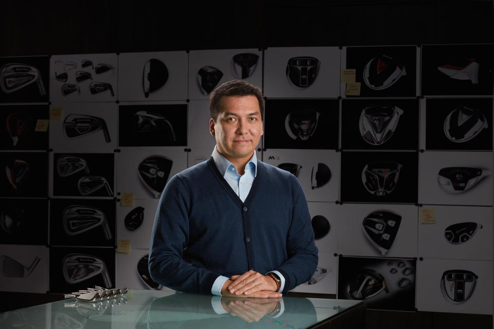 Tomo Bystedt, TaylorMade's senior director of product creation.