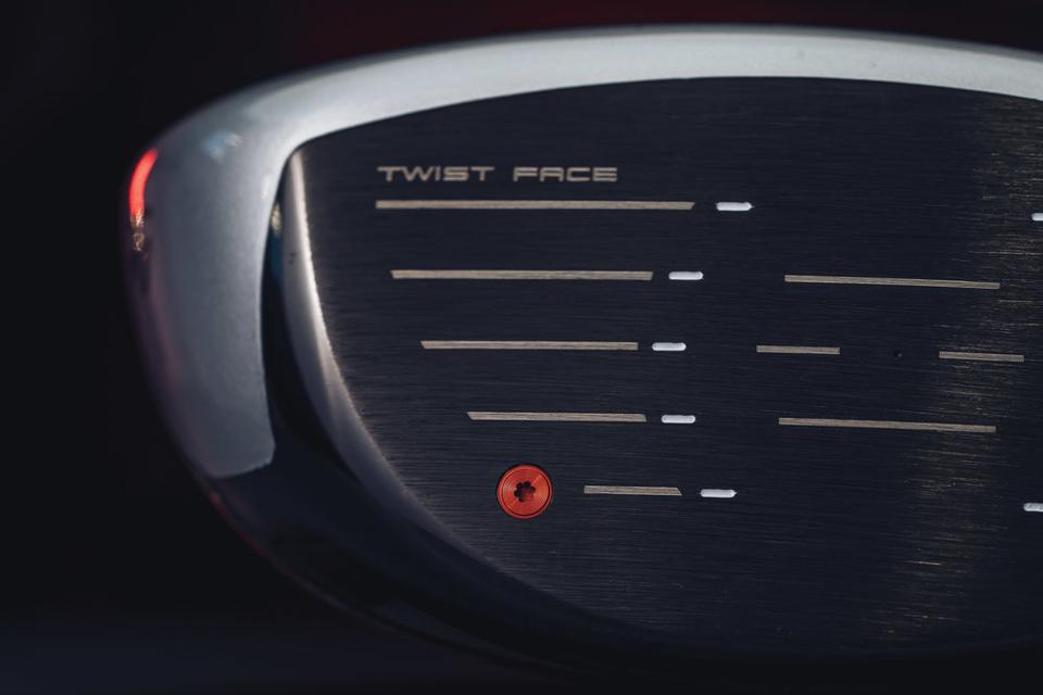 Clubface view of TaylorMade's new drivers.