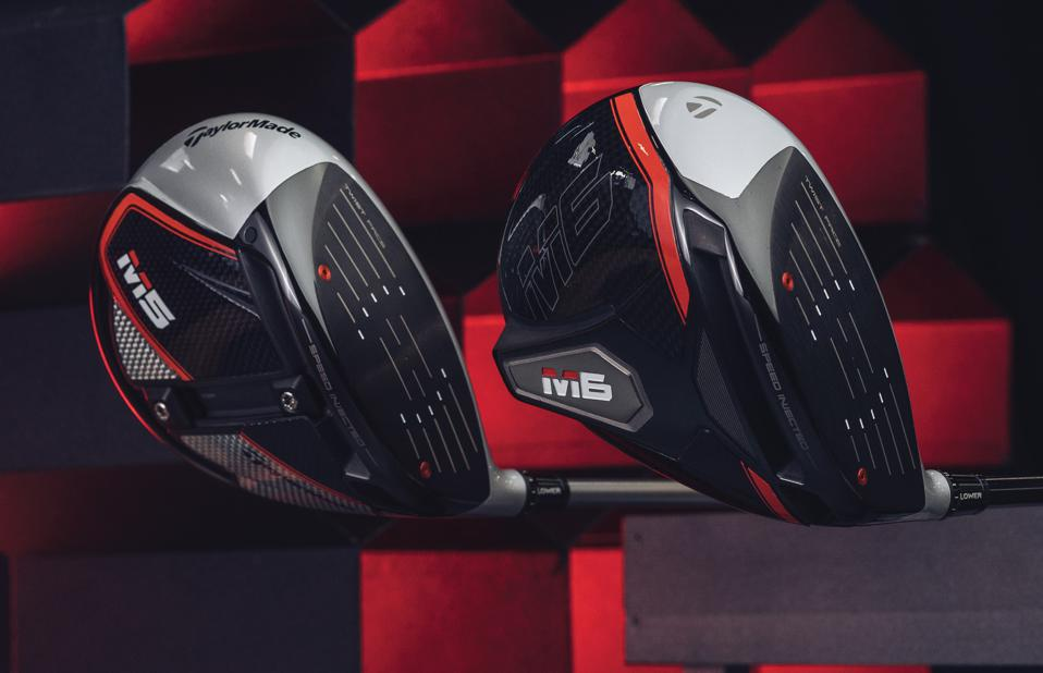TaylorMade's new M5 and M6 drivers.