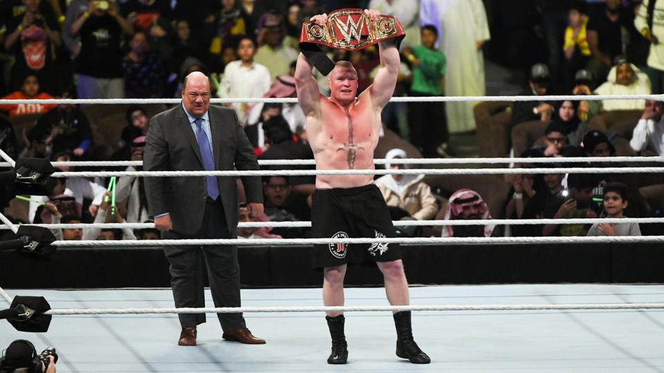 Brock Lesnar as Universal Champion