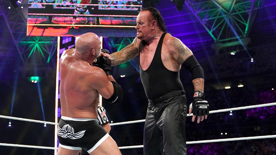 The Undertaker vs. Goldberg