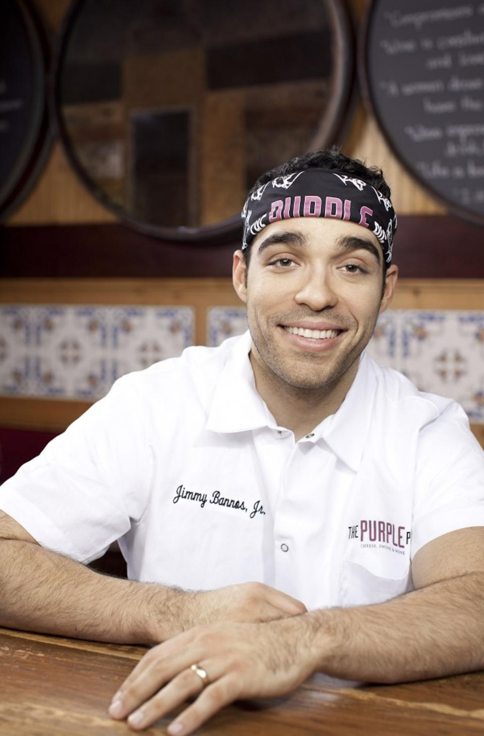 Jimmy Bannos, Jr. is the owner and chef of The Purple Pig in Chicago.